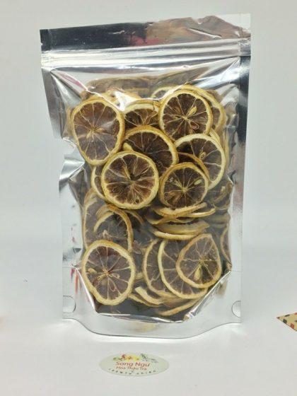 trà chanh vàng thái lát túi zip 100g