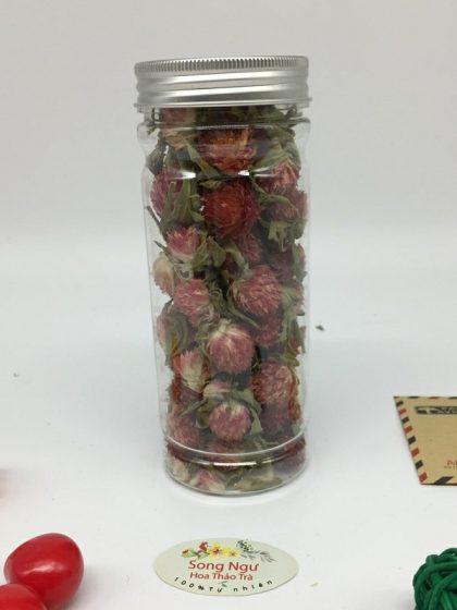 trà hoa bách nhật hồng lọ 350ml-20g