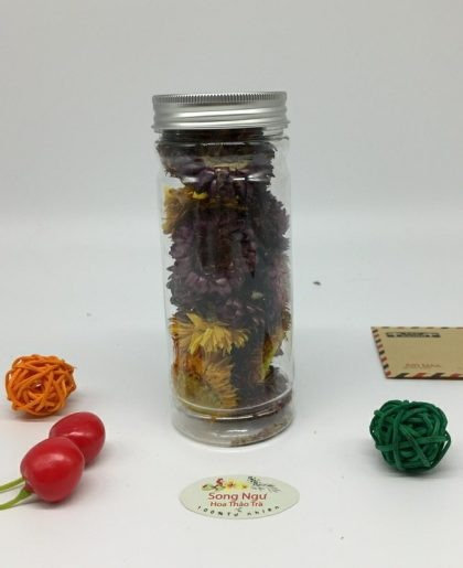 trà hoa cúc bất tử lọ 350ml- 15g