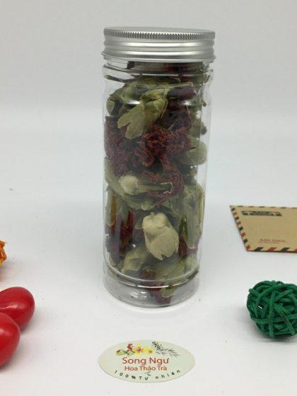 trà hoa cẩm chướng lọ 350ml- 40g