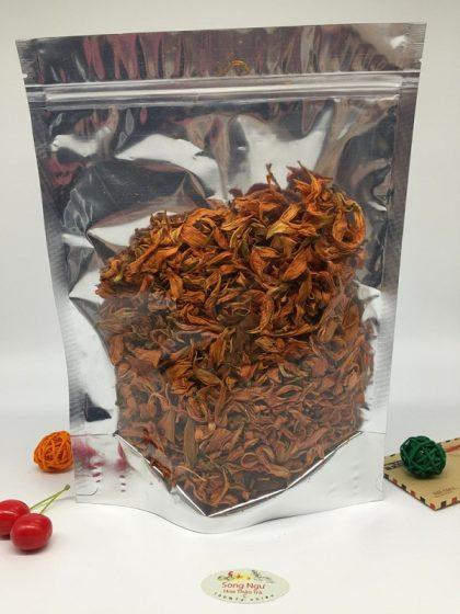 trà hoa bách hợp túi zip 100g