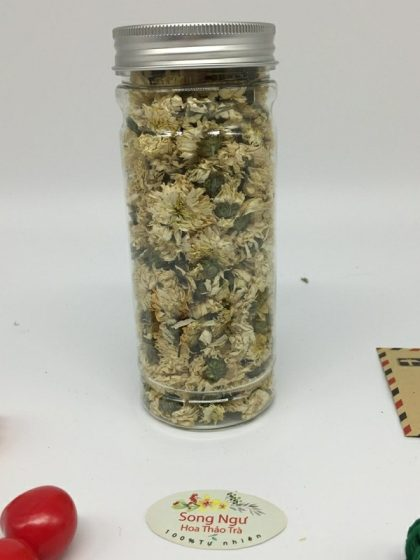 trà hoa cúc trắng tiến vua lọ 350ml-30g
