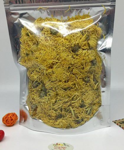 trà hoa cúc vàng đại đóa túi zip 100g