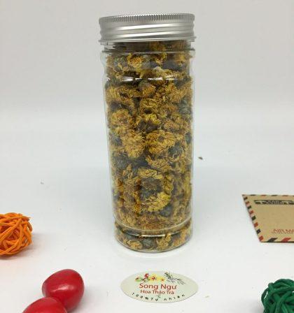 trà hoa cúc vàng tiến vua lọ 350ml- 30g